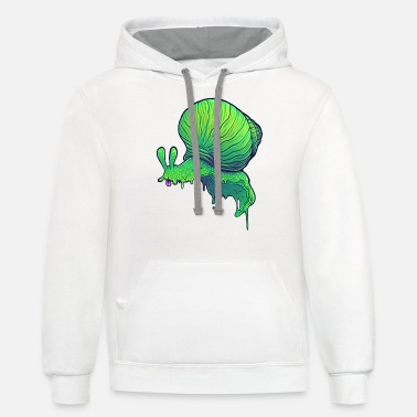 A Snail - Unisex Two-Tone Hoodie