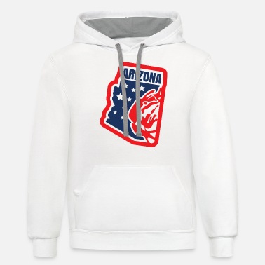 Stars And Stripes Arizona Stars and Stripes - Unisex Two-Tone Hoodie