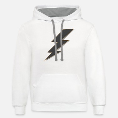 Parafuso Lightning bolt T-Shirt - Unisex Two-Tone Hoodie