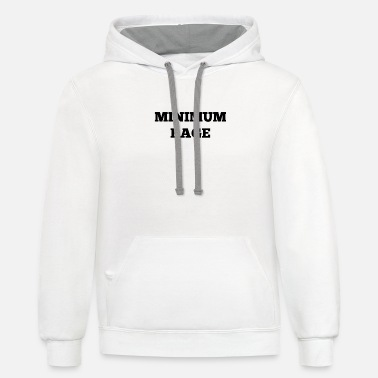 Minimum Minimum Rage - Unisex Two-Tone Hoodie