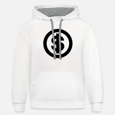 Dollar Sign dollar sign - Unisex Two-Tone Hoodie