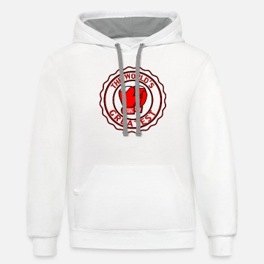 WORLDS GREATEST BOXING - Unisex Two-Tone Hoodie