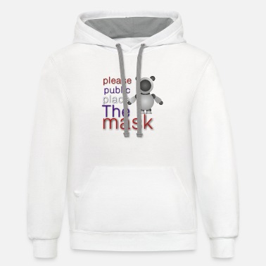 Mask t shirt - Unisex Two-Tone Hoodie