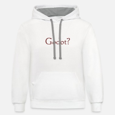 godot - Unisex Two-Tone Hoodie