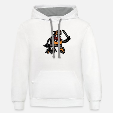 Spinza as tank Dempsey - Unisex Two-Tone Hoodie