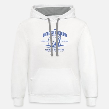 Reds Dufresne and Redding Fishing Charters - Unisex Two-Tone Hoodie