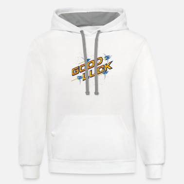 Good Luck - Unisex Two-Tone Hoodie