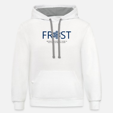 Frost Frost - Unisex Two-Tone Hoodie