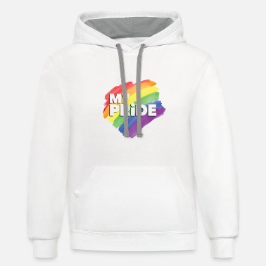 Pride Magazine Sounds Gay I m In - Unisex Two-Tone Hoodie
