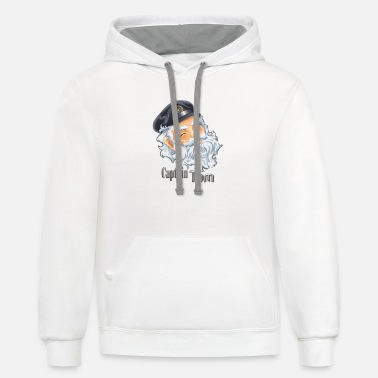 Tomine CAPTAIN TOM - Unisex Two-Tone Hoodie