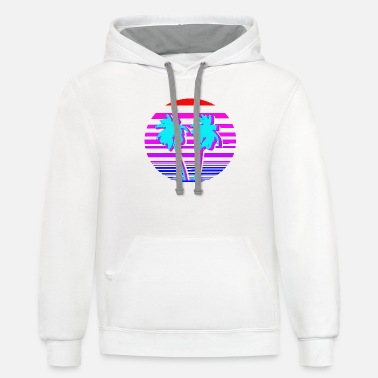 Vacation Beach Vacation - Unisex Two-Tone Hoodie