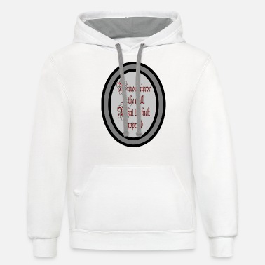 Mirrored Mirror mirror - Unisex Two-Tone Hoodie