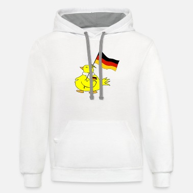 Flag Of Germany flag of germany - Unisex Two-Tone Hoodie