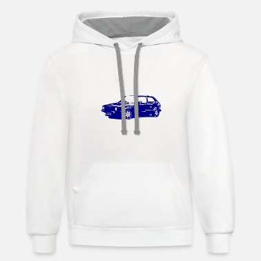 Hobbyists Car / hobbyist - Unisex Two-Tone Hoodie