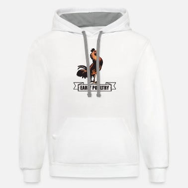 Poultry Early Poultry - Unisex Two-Tone Hoodie