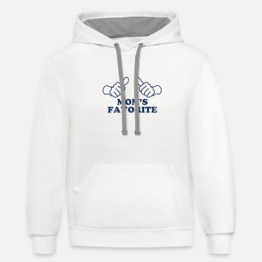 Mom's Favorite Mom's Favorite - Unisex Two-Tone Hoodie