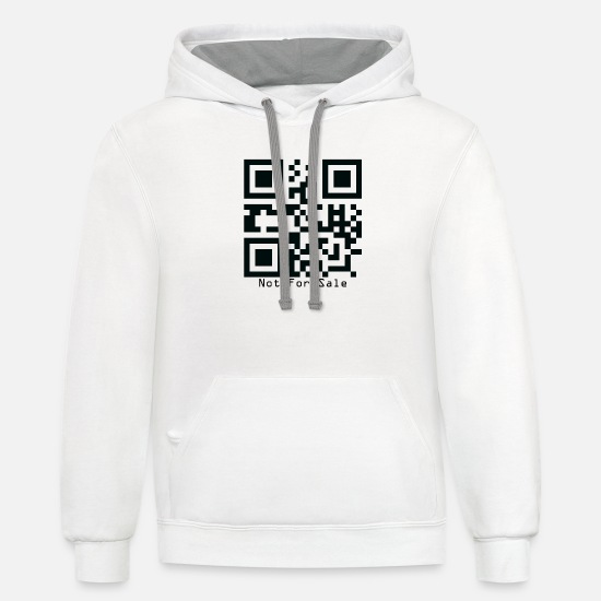Sale Hoodies & Sweatshirts - Not-For-Sale - Unisex Two-Tone Hoodie white/gray