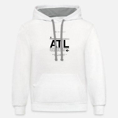 Airport Atlanta georgia airport - Unisex Two-Tone Hoodie