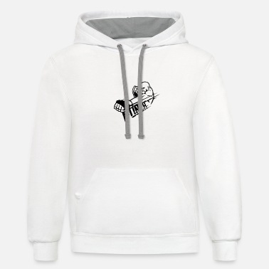 Punch Punch - Unisex Two-Tone Hoodie