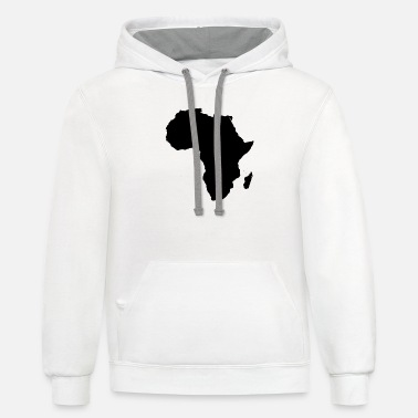 africa - Unisex Two-Tone Hoodie