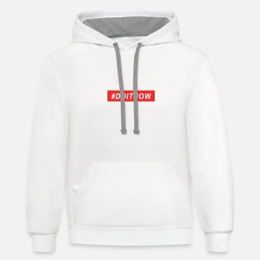 Spast Do it now - Unisex Two-Tone Hoodie