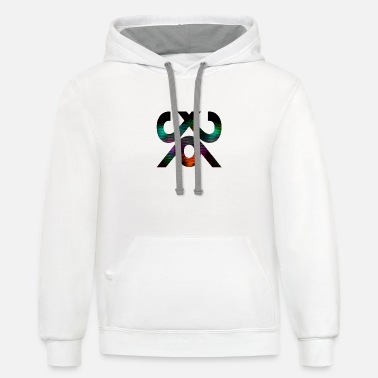 India junction 002 - Unisex Two-Tone Hoodie