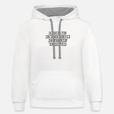 Nations Freedom - Unisex Two-Tone Hoodie