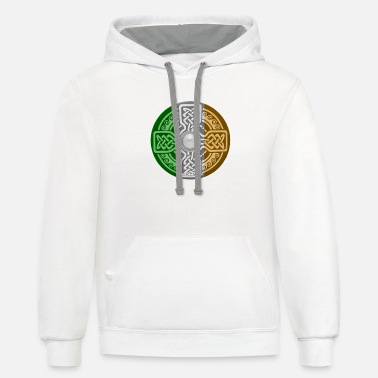 Symbol Celtic Shield - Unisex Two-Tone Hoodie