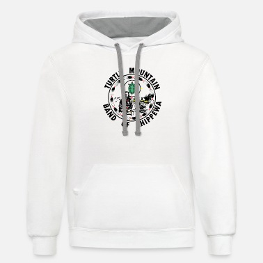 Band Turtle Mountain Band - Unisex Two-Tone Hoodie