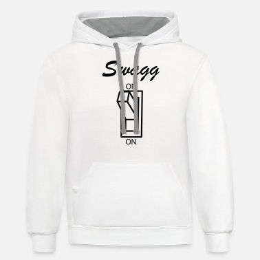 Swagg Swagg on - Unisex Two-Tone Hoodie