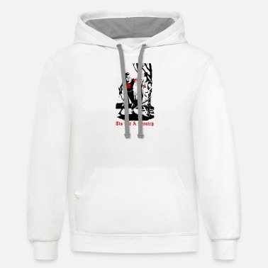 Scratch TIS BUT A SCRATCH - Unisex Two-Tone Hoodie