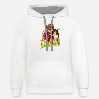 Crashing THE CRASH - Unisex Two-Tone Hoodie