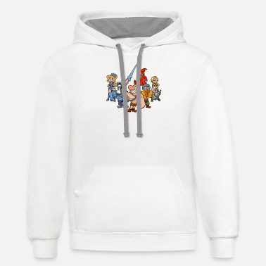 Masters of the Grimverse - Unisex Two-Tone Hoodie