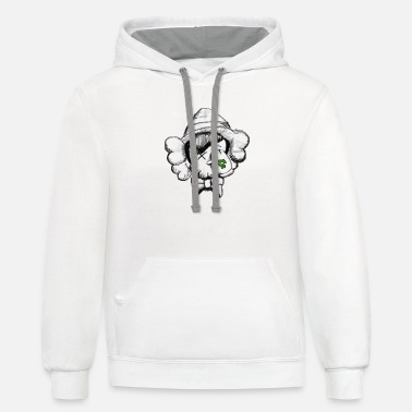 Swagg bettermndbttrsight - Unisex Two-Tone Hoodie