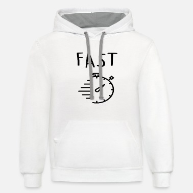 Fast fast - Unisex Two-Tone Hoodie