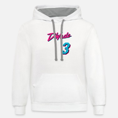 Vice City Vice Wade Jersey Script 1 - Unisex Two-Tone Hoodie