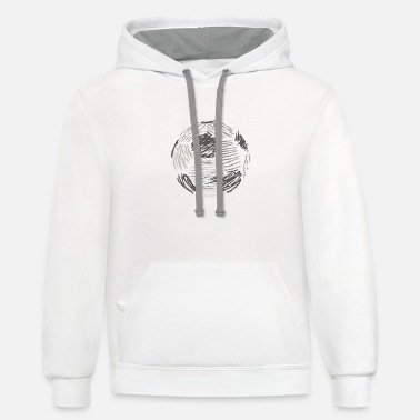 Soccer Ball Soccer ball - Unisex Two-Tone Hoodie