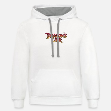 Dragons Lair Dragon's Lair - Unisex Two-Tone Hoodie