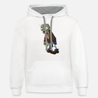 Plants plants vs zombie - Unisex Two-Tone Hoodie