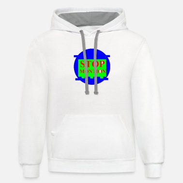 Motion stop motion - Unisex Two-Tone Hoodie