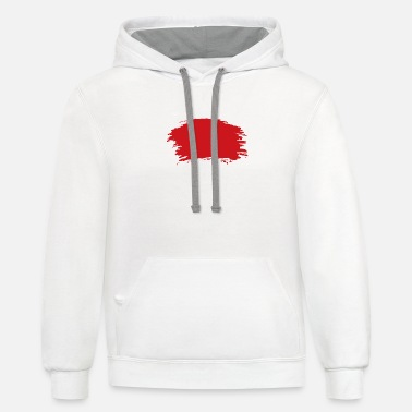 Red - Unisex Two-Tone Hoodie