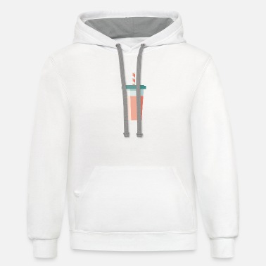 Iconic Smoothie Icon - Unisex Two-Tone Hoodie