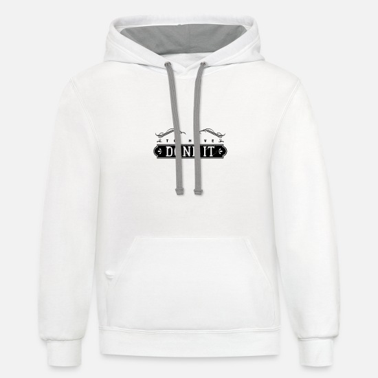 Style Of Music Hoodies & Sweatshirts - To have done it style - Unisex Two-Tone Hoodie white/gray