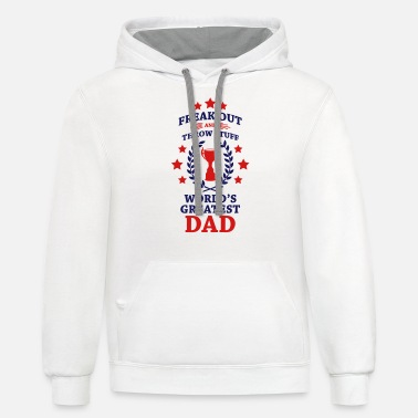 Phish Fuego World's Greatest Dad - Unisex Two-Tone Hoodie