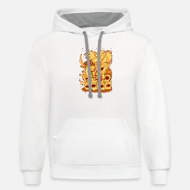 Attackers attack - Unisex Two-Tone Hoodie