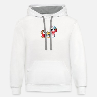 Meal COMBO MEAL - Unisex Two-Tone Hoodie