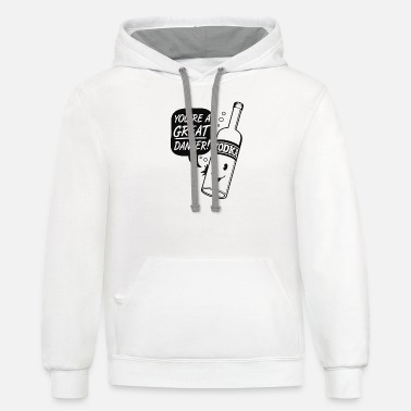 Vodka Dancer - Unisex Two-Tone Hoodie