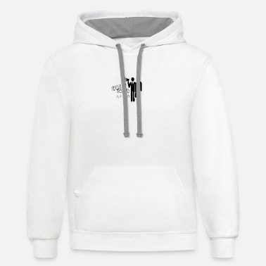 Hello Sorry Am Busy - Unisex Two-Tone Hoodie