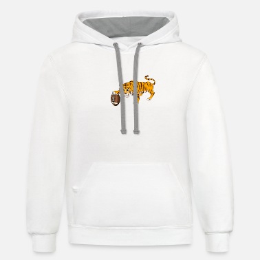 Tigers tiger - Unisex Two-Tone Hoodie