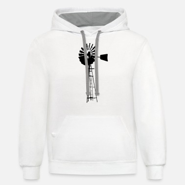 Windmill Windmill - Unisex Two-Tone Hoodie